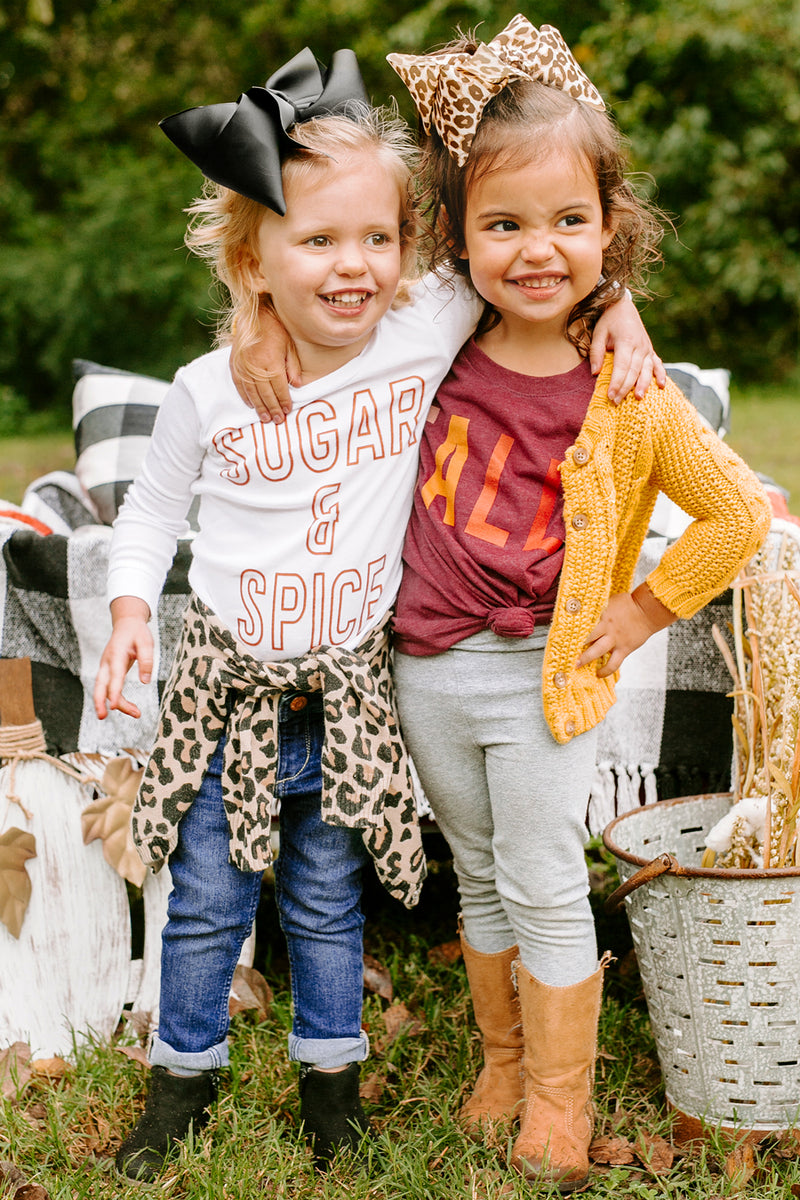 "The ""Sugar & Spice"" Toddler Tee - Gameday Couture"
