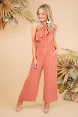 "The ""Feeling Brand New"" Romper in Pink"