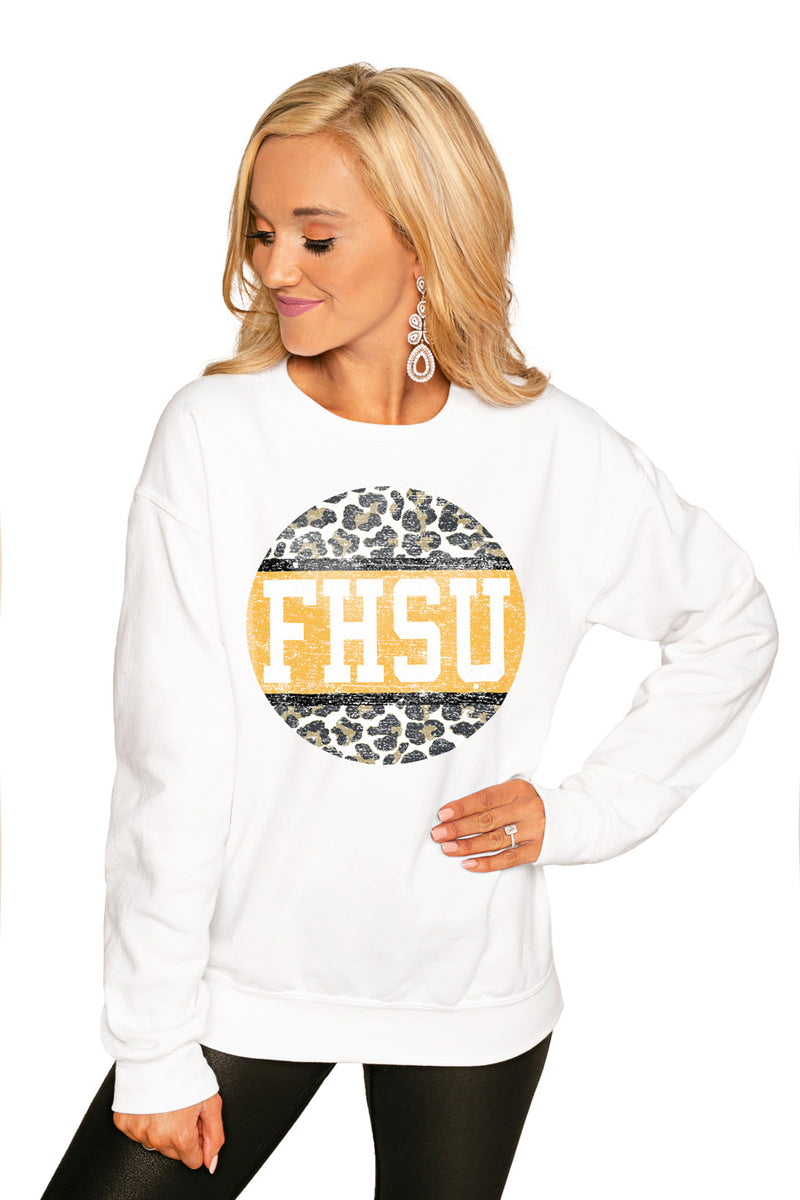 "FORT HAYS STATE TIGERS ""SCOOP & SCORE"" PERFECT COZY CREW SWEATSHIRT - Gameday Couture"