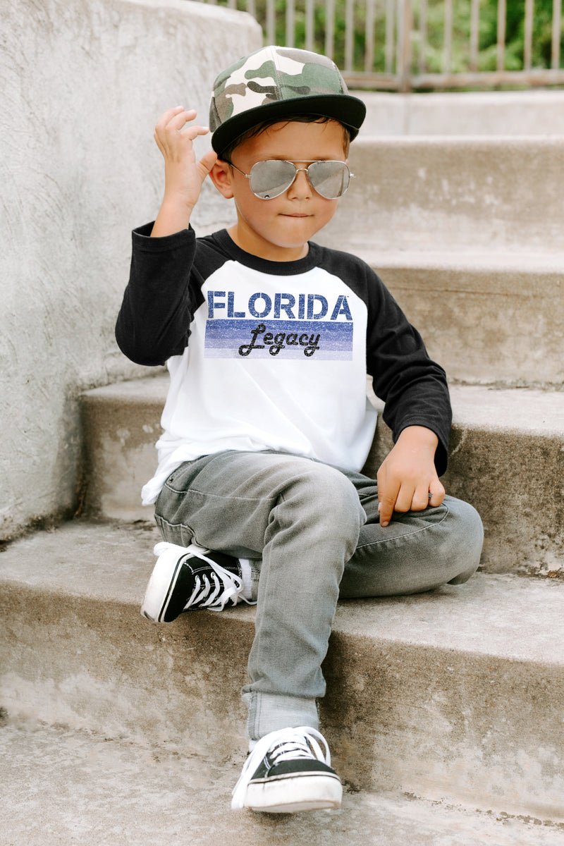 "Florida Gators ""Campus Legacy"" Youth Raglan - Gameday Couture"