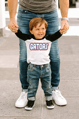 "Florida Gators ""It's a Win"" Toddler Raglan Tee - Gameday Couture"