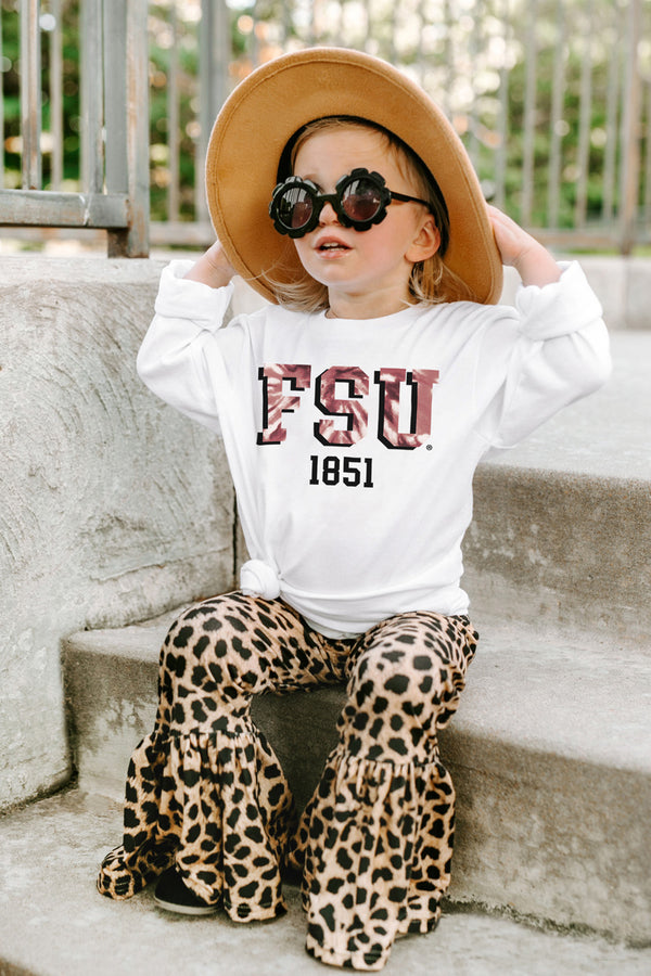 "Florida State Seminoles ""No Time To Tie Dye"" Crewneck Long-Sleeved Tee - Shop The Soho"