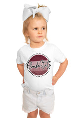 Florida State Seminoles Faded and Free Crewneck Short Sleeved - Gameday Couture