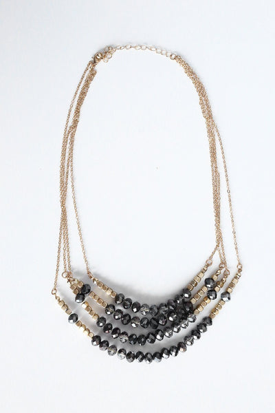 First Focus Layered Necklace - Gameday Couture