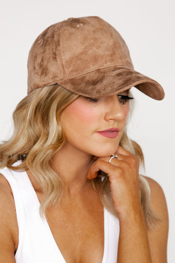 "The ""Harlowe"" Faux Suede Hat - Shop The Soho"