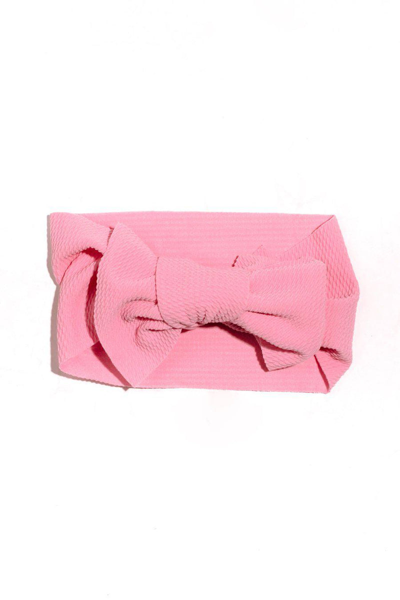Toddlers Head Wrap In Pink - Final Sale - Shop The Soho