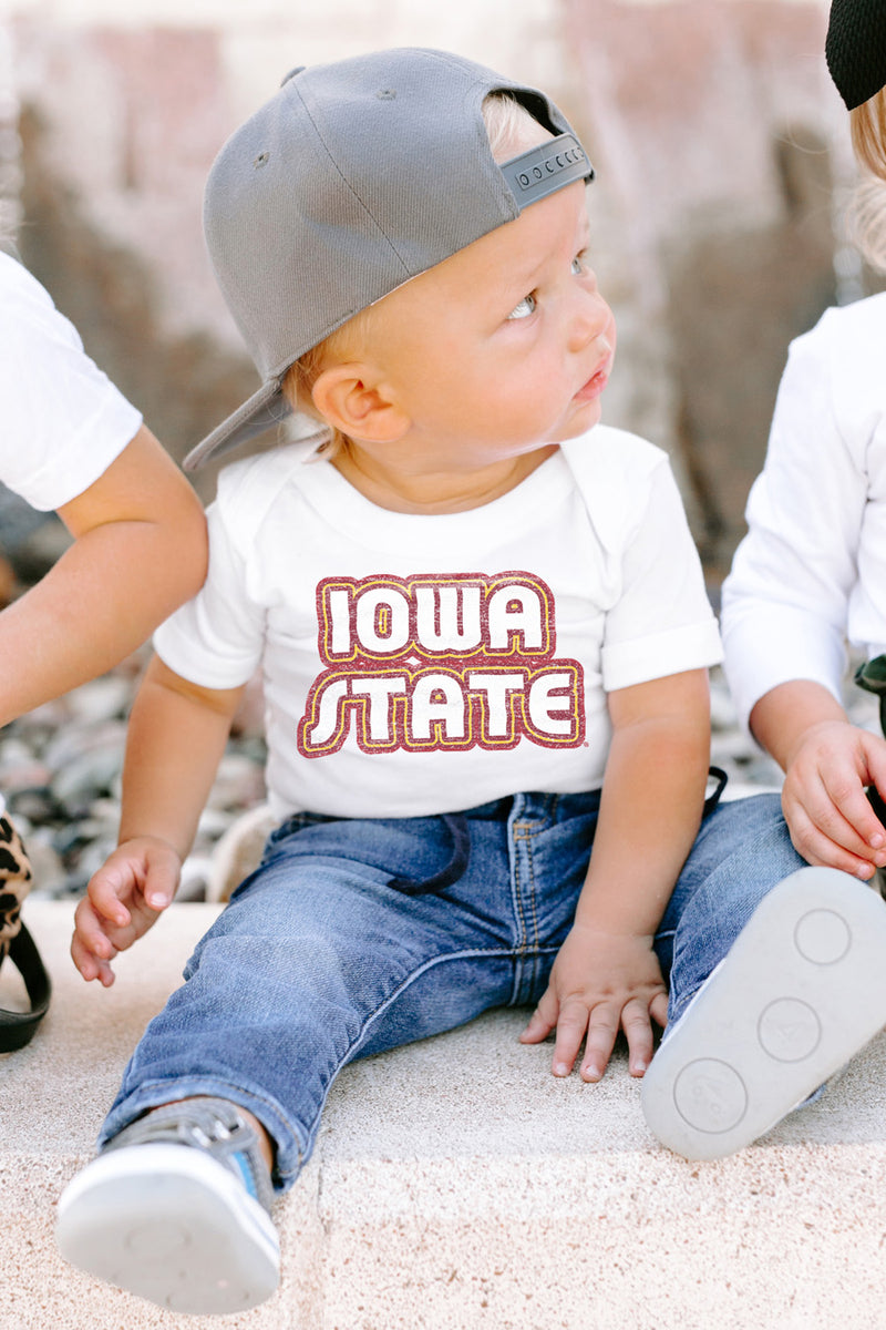"Iowa State Cyclones ""It's a Win"" Snap to It Onesie - Gameday Couture"