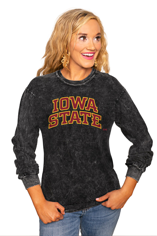 "Iowa State Cyclones ""Good Going"" Retro Mineral Wash Crew - Gameday Couture"