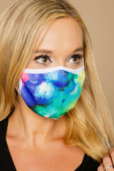 "The ""Keep It Covered"" Adult Mask in Tie Dye - Gameday Couture"