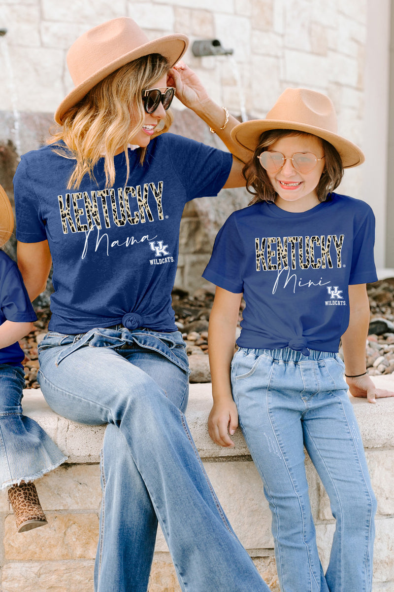 "Kentucky Wildcats ""Untamed Mama"" Boyfriend Top - Gameday Couture"