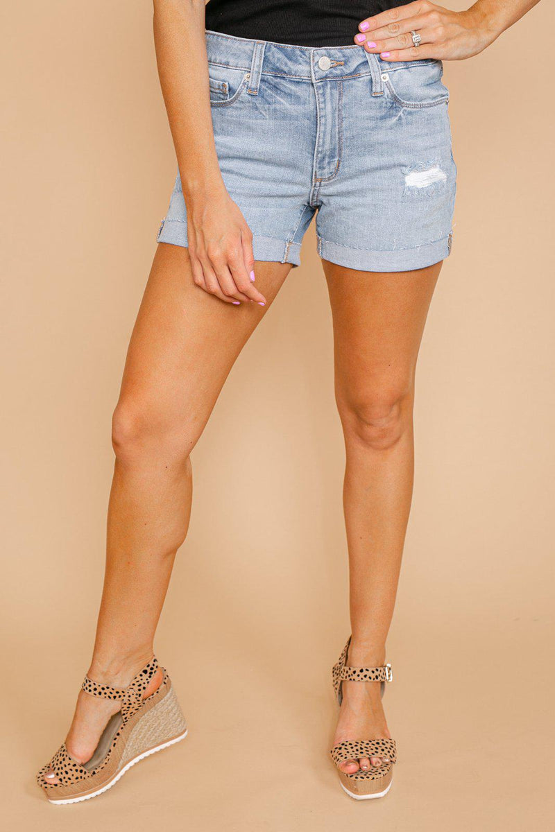 "The ""Lillian"" Denim Shorts - Gameday Couture"