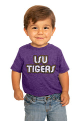 "LSU Tigers ""It's a Win"" Crewneck Toddler Tee - Gameday Couture"