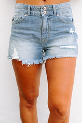 "The ""Lydia"" Denim Shorts - Gameday Couture"