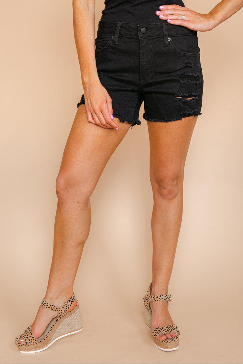 "The ""Madison"" Denim Shorts - Gameday Couture"