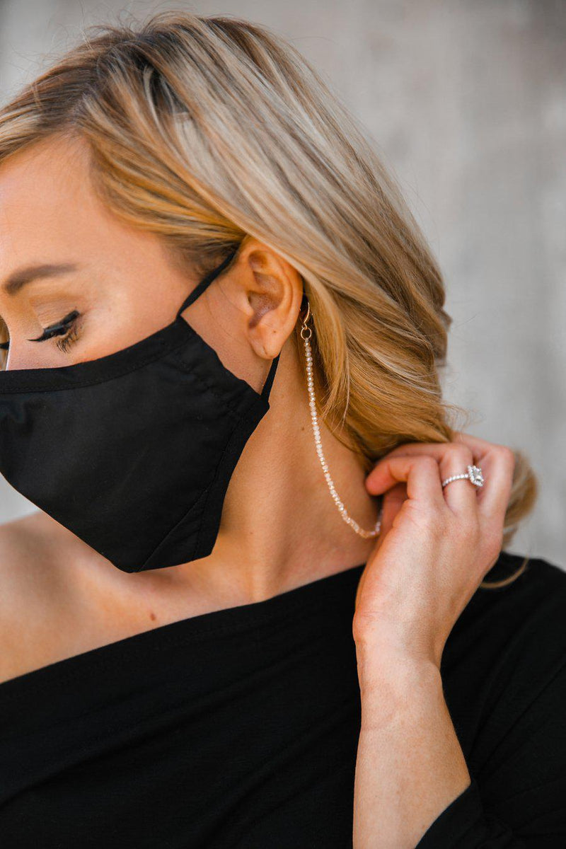 Glam Style Mask Holder - Gameday Couture