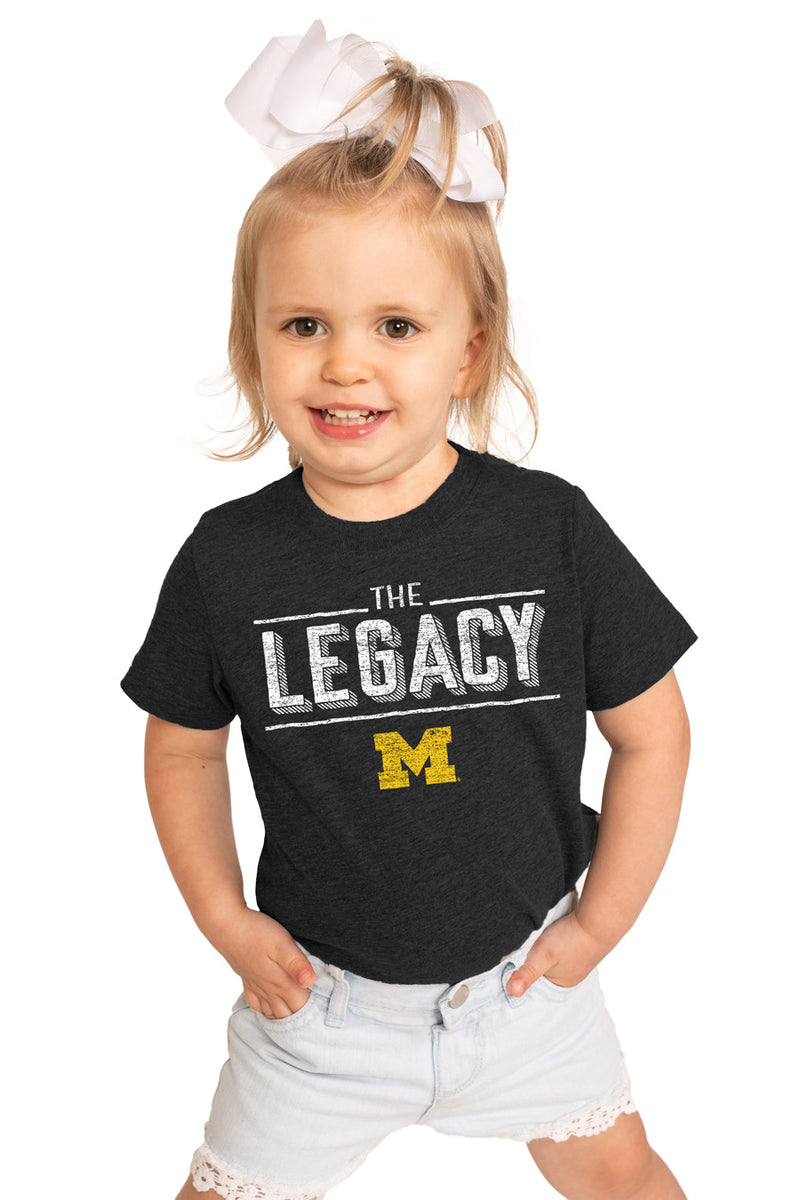 "Michigan Wolverines ""The Legacy"" Toddler Tee - Gameday Couture"