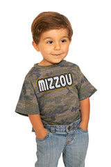 "Missouri Tigers ""It's a Win"" Camo Toddler Tee - Gameday Couture"