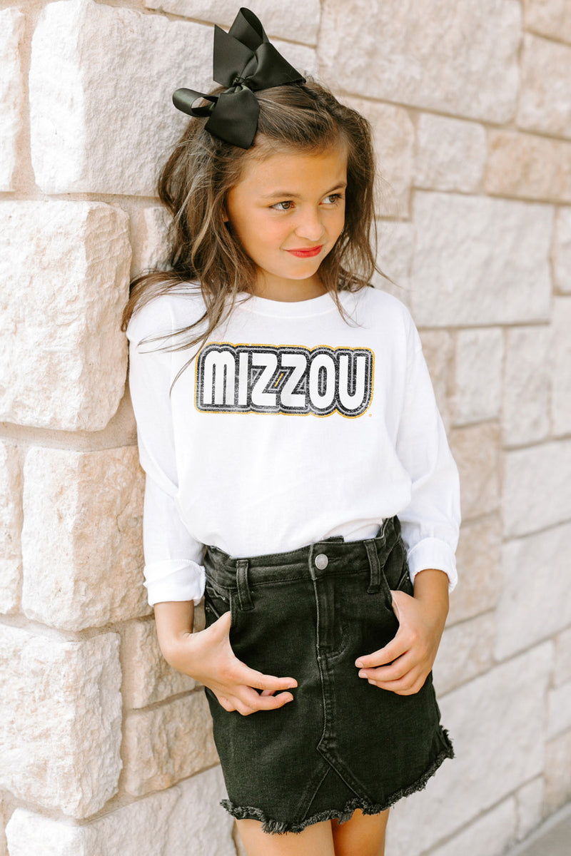 "Missouri Tigers ""It's A Win"" Long Sleeve Youth Tee - Gameday Couture"