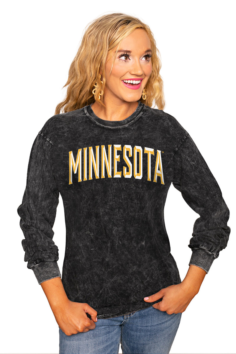 "MINNESOTA GOPHERS ""GOOD GOING"" RETRO MINERAL WASH CREW - Gameday Couture"