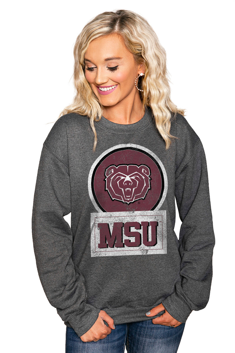 "MISSOURI STATE - WEST PLAINS ""GOOD VIBES"" Perfect Crew Sweatshirt - Gameday Couture"