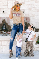 "Mississippi Ole Miss ""It's a Win"" Boyfriend Top - Gameday Couture"