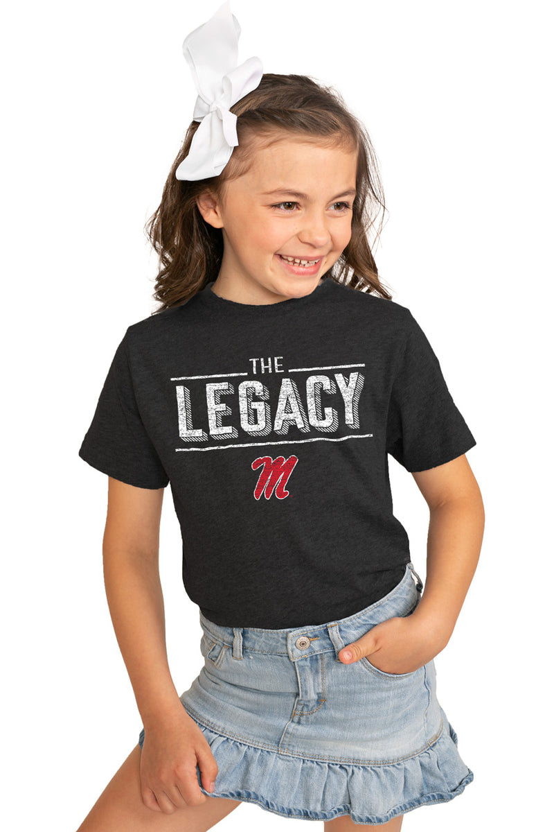 "Mississippi Ole Miss ""The Legacy"" Youth Tee - Gameday Couture"