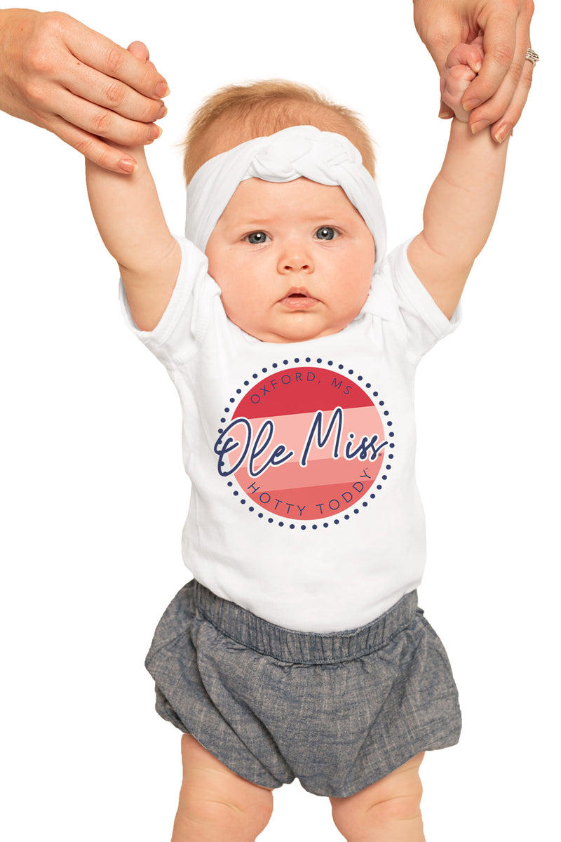 "Mississippi Ole Miss ""Faded and Free"" Onesie - Gameday Couture"