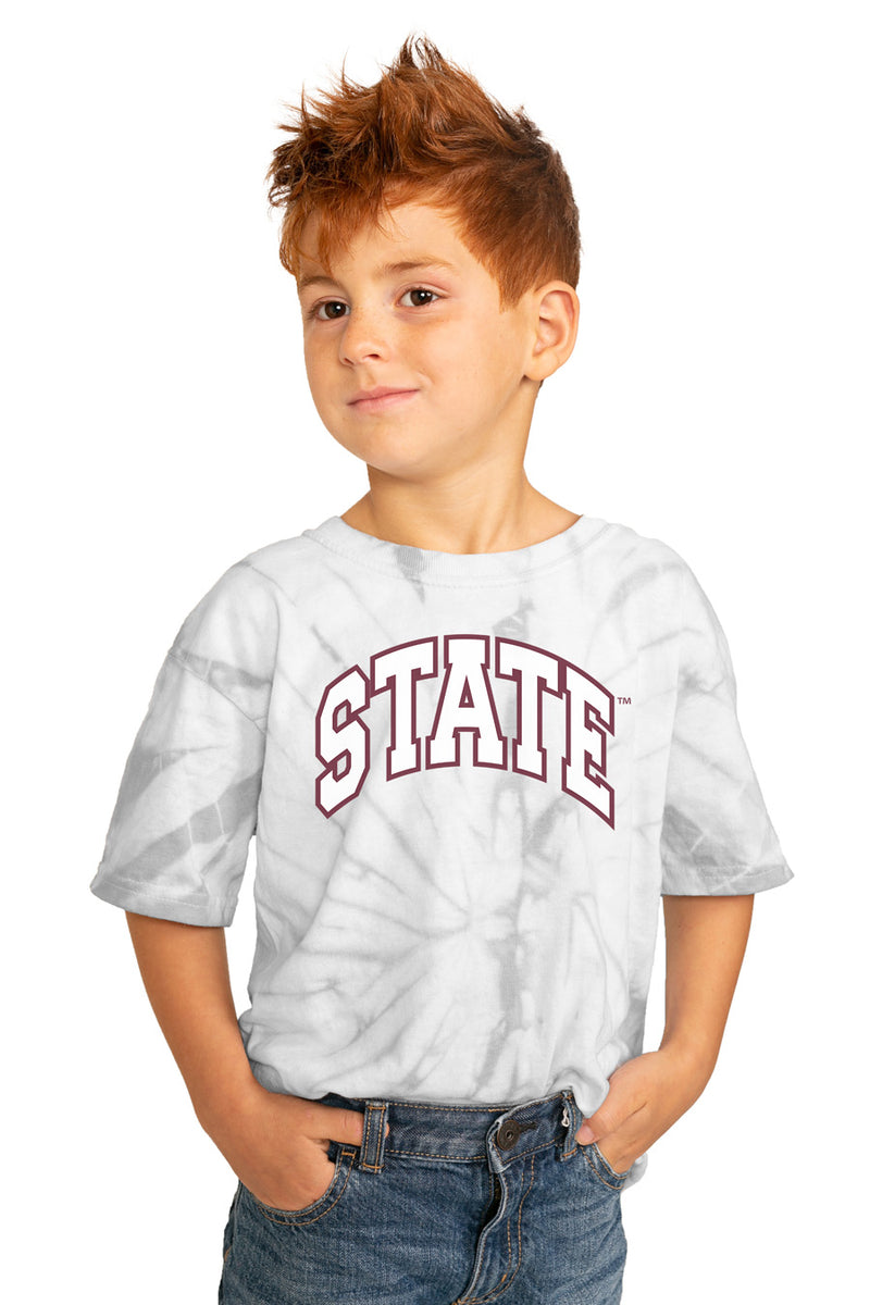 "Mississippi State Bulldogs ""Playing for the Home Team"" Youth Spin-Dye Top - Gameday Couture"