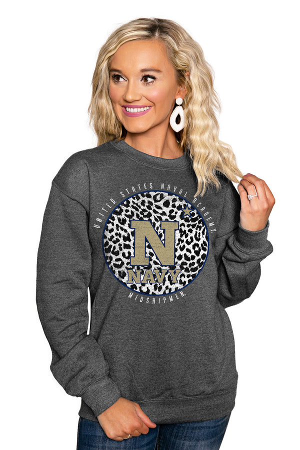 "US NAVY MIDSHIPMEN ""CALL THE SHOTS"" Perfect Crew Sweatshirt - Gameday Couture"