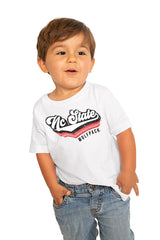 "Nc State Wolfpack ""Vivacious Varsity"" Toddler Tee - Gameday Couture"