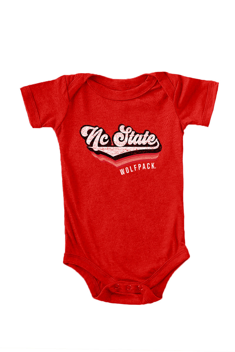 "Nc State Wolfpack ""Vivacious Varsity"" Onesie - Gameday Couture"