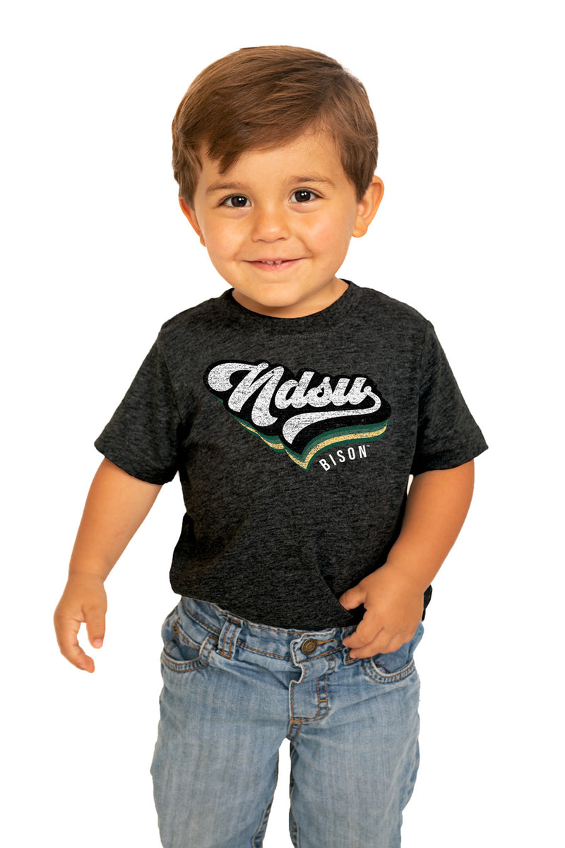"North Dakota State Bison ""Vivacious Varsity"" Toddler Tee - Gameday Couture"
