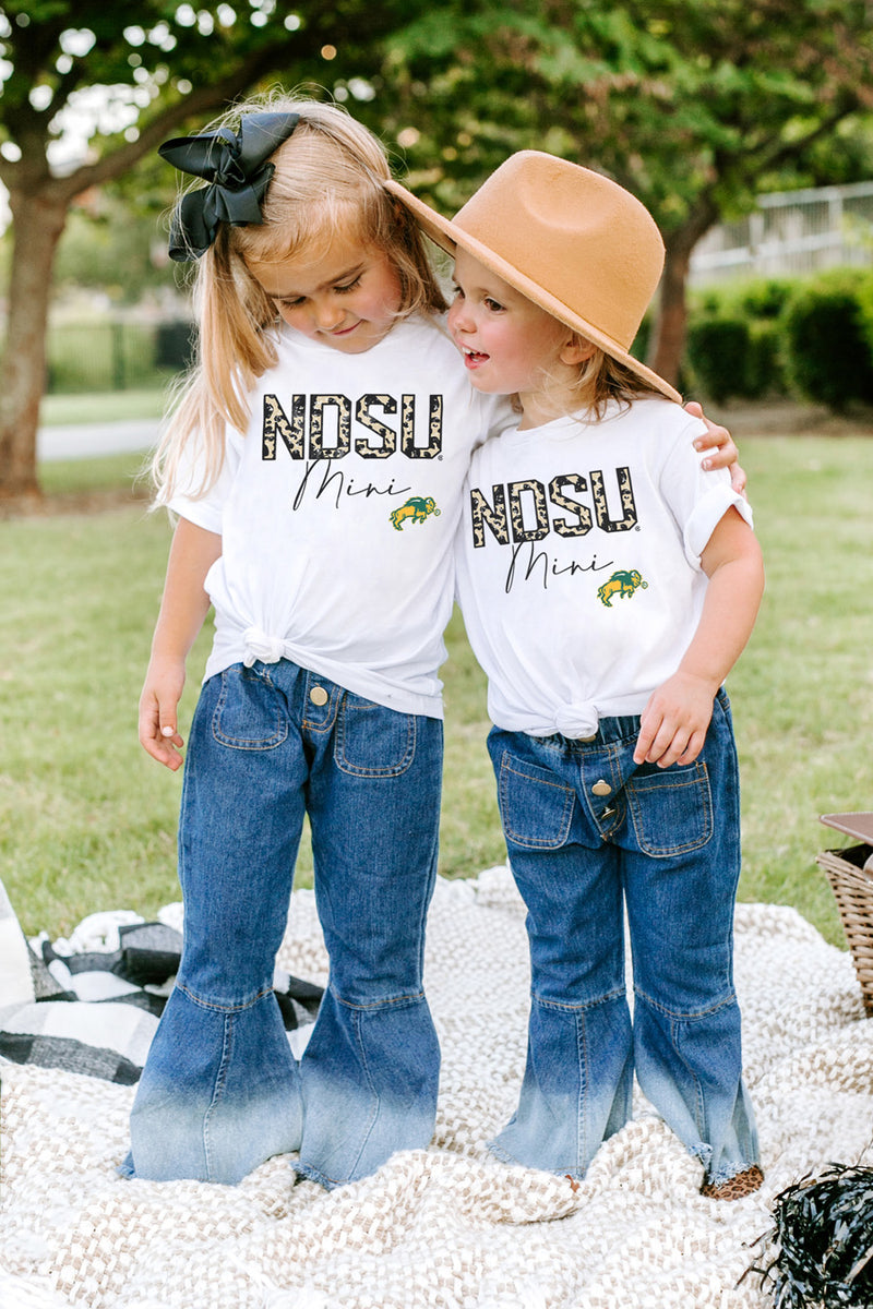 "North Dakota State Bison ""Untamed Mini"" Toddler Tee - Gameday Couture"