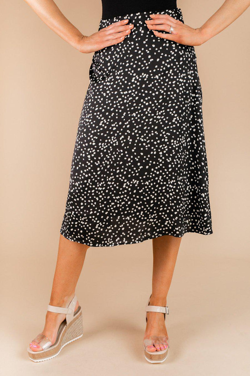 "The ""New Directions"" Skirt in Black - Gameday Couture"