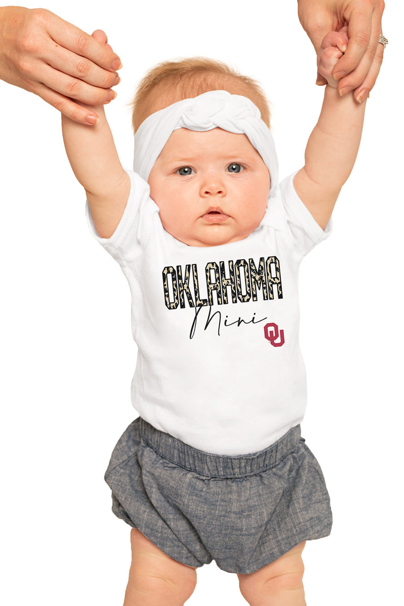 "Oklahoma Sooners ""Untamed Mini"" Onesie - Gameday Couture"