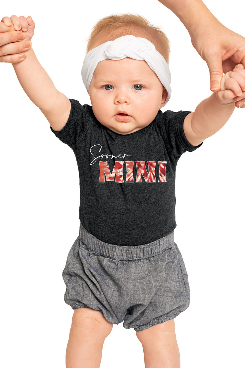 "Oklahoma Sooners ""Mini"" Onesie - Gameday Couture"