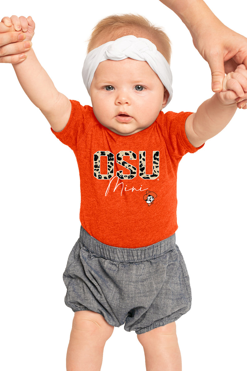 "Oklahoma State Cowboys ""Untamed Mini"" Onesie - Gameday Couture"