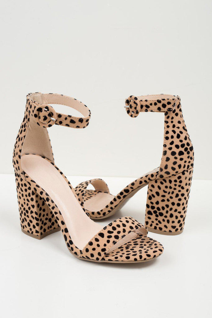 "The ""On the Hunt"" Leopard Heels"