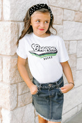 "Oregon Ducks ""Vivacious Varsity"" Youth Tee - Gameday Couture"