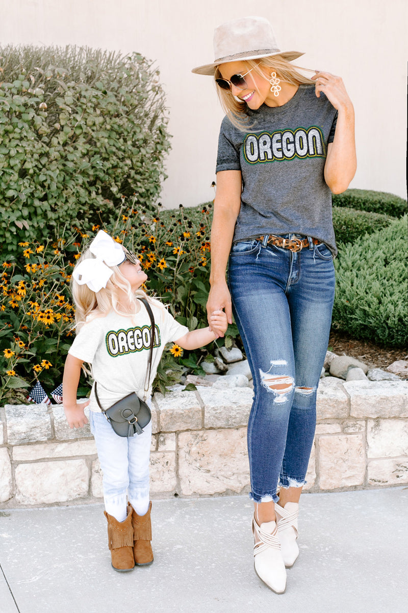 "Oregon Ducks ""It's a Win"" Boyfriend Top - Gameday Couture"