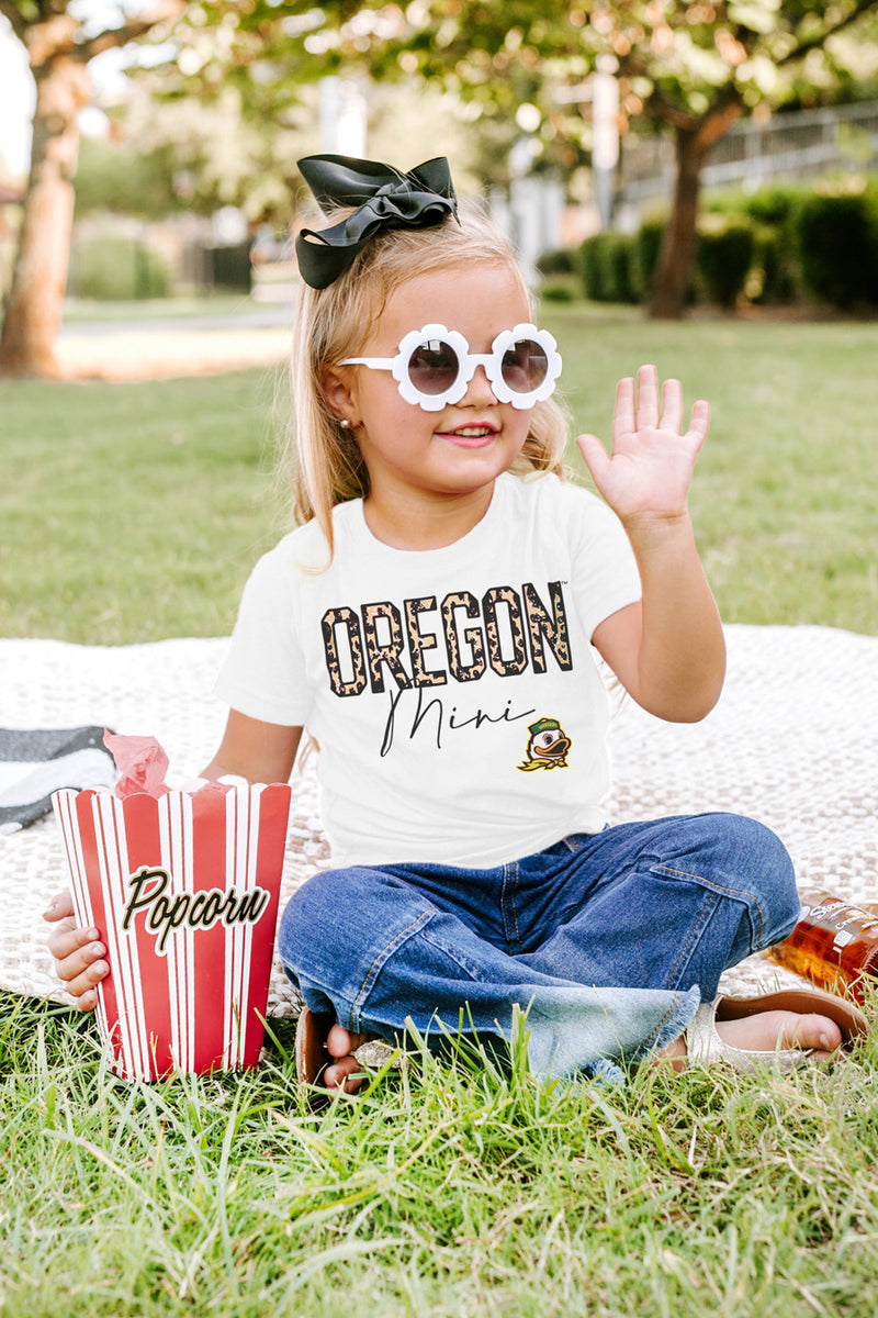 "Oregon Ducks ""Untamed Mini"" Toddler Tee - Gameday Couture"