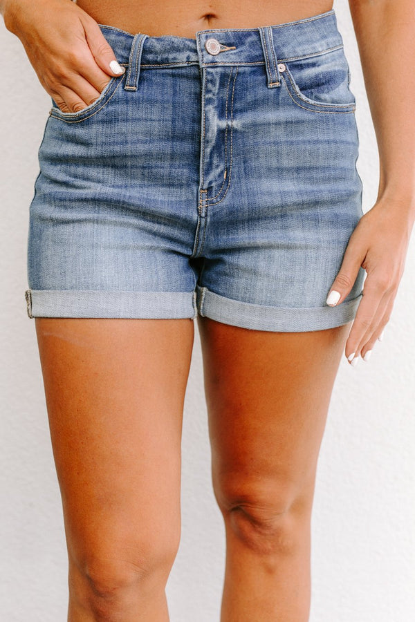 "The ""Piper"" Denim Shorts"