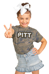 "Pittsburgh Panthers ""It's a Win"" Camo Youth Tee - Gameday Couture"