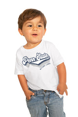 "Penn State Nittany Lions ""Vivacious Varsity"" Toddler Tee - Gameday Couture"