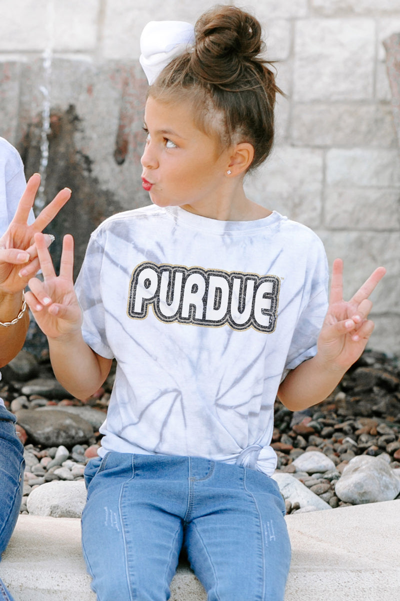 "Purdue Boilermakers ""It'S A Win"" Youth Spin-Dye Tee - Gameday Couture"