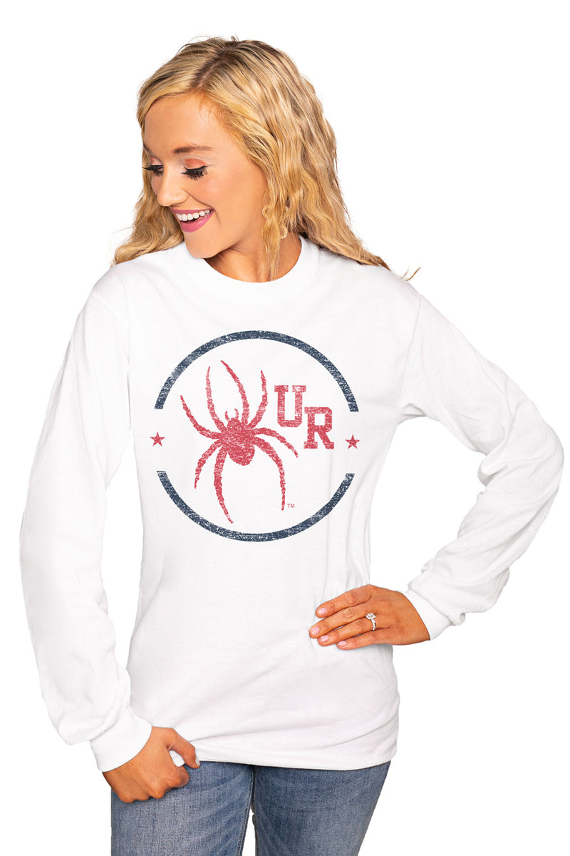 "Richmond Spiders ""End Zone"" Luxe Boyfriend Crew Tee - Shop The Soho"