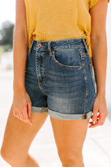 "The ""Ryland"" Denim Shorts - Gameday Couture"