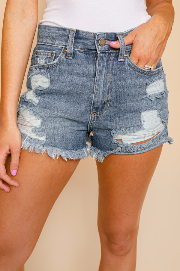 "The ""Samantha"" Denim Shorts"