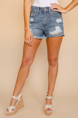 "The ""Samantha"" Denim Shorts - Gameday Couture"