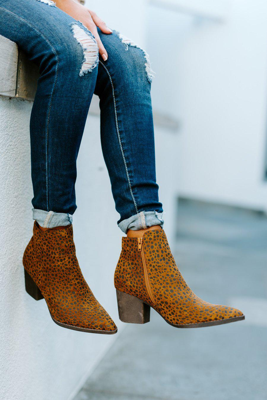 "The ""Short Notice"" Bootie"